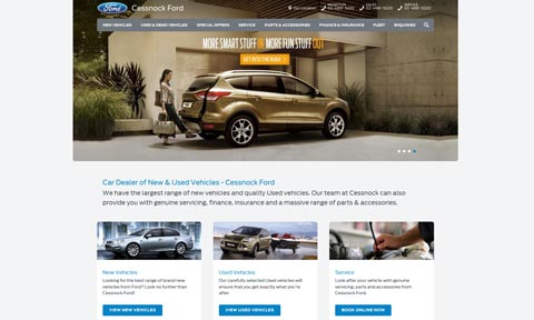 Ford Desktop Site